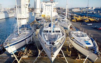 Vervoer van boot